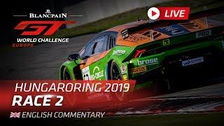 Download RACE 2 - HUNGARY - BLANCPAIN GT WORLD CHALLENGE EUROPE 2019 - ENGLISH Video