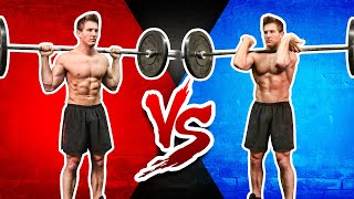 Download Front Squat VS. Back Squat | WHICH BUILDS MORE MUSCLE & STRENGTH? Video