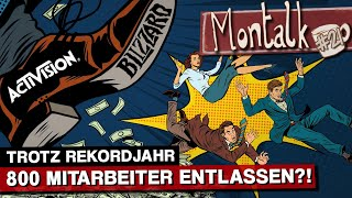 Download Ärger bei Activision Blizzard: Entlassungswelle trotz Rekordumsatz | Montalk #21 Video