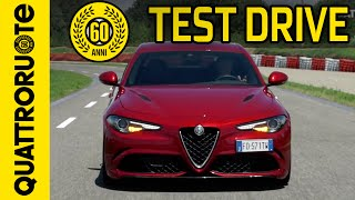 Download Alfa Romeo Giulia Quadrifoglio 2016 Test Drive Video