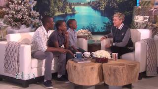 Download The Melisizwe Brothers on The Ellen DeGeneres Show. Video