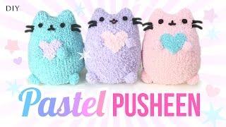 Download DIY Pusheen Cat Plush - Make Adorable Budget Plushies Using SOCKS!! Video
