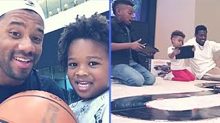 Download Funny Times With NFL Players and Their Kids Antonio Brown, Rob Gronkowski, Jarvis Landry and More Video