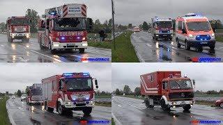 Download [Feuer in der Hessenwaldschule] Katastrophenschutzübung des Landkreises Darmstadt-Dieburg Video