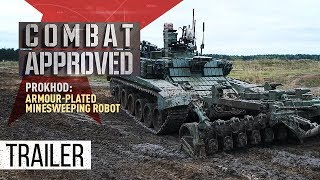 Download Prokhod: Armour-plated Minesweeping Robot (Trailer) Premiere 15/10 Video