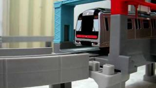 Download Takara Tomy プラレール 港鐵 (MTR) 列車 M-Train (開車, 通過, 停站) Video