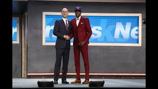 Download Frank Ntilikina Drafted 8th Overall by New York Knicks in 2017 NBA Draft Video