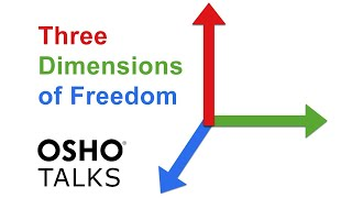 Download OSHO: The Three Dimensions of Freedom ... Video
