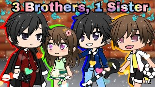 Download 3 Brothers, 1 sister || Mini movie | GachaVerse Video