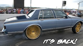 Download HAS NOT SAW A TRACK IN YEARS! KUT DA CHECK RACING PROCHARGED BOX CHEVY RETURNS Video