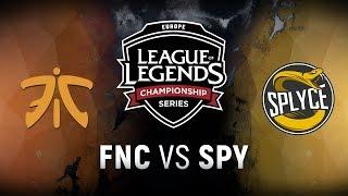 Download FNC vs. SPY - Week 8 Day 2 | EU LCS Summer Split | Fnatic vs. Splyce (2018) Video