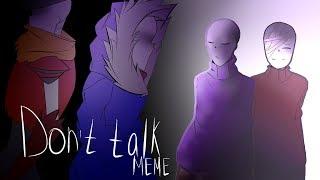 Download Don't talk ||MEME|| Snooptale Sans and Papyrus Video