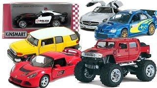 Download Машинки игрушки Kinsmart. Коллекционные модельки машинок (Часть 2) Video