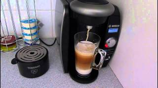 Download Bosch Tassimo coffee machine and how to halve the price of latte coffee . Video
