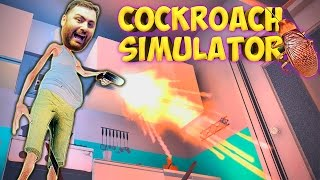 Download COCKROACH SIMULATOR: Kill All The Stupid Bugs!! (FUNNY MOMENTS) Video