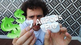 Download Compré los audífonos ridículamente CAROS de Apple: ¿vale la pena gastar TANTO? | AirPods Pro Video