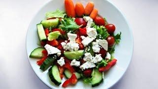 Download Salatrezept Italienischer Salat - Rezept von einfach Kochen für die mediterrane Küche Video