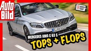 Download Quickshot: Mercedes AMG C63 S - Tops & Flops! Video