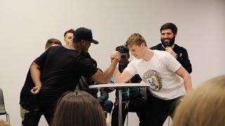 Download KSI vs W2S *EPIC* SIDEMEN ARM WRESTLING CHALLENGE! Video