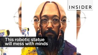 Download This robotic statue will mess with your mind Video