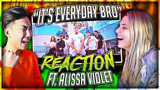 Download Reacting to Jake Paul's Song With His EX Girlfriend (Alissa Violet) Video