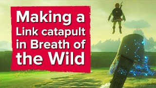 Download You can make a Link catapult in The Legend of Zelda: Breath of the Wild Video