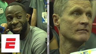 Download Draymond Green and Steve Kerr react to LeBron James recalling play with photographic memory | ESPN Video