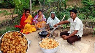 Download Golgappa Recipe | Pani Puri Recipe | How To Make Village Style Fuchka at Home Video