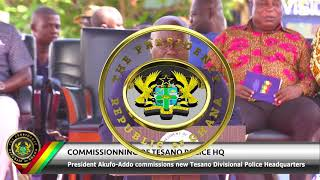 Download Commissioning of New Tesano Police HQ Video