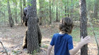 Download We found BIGFOOT in the woods! Video