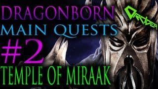 Download Skyrim Dragonborn - 2. The Temple of Miraak [Main Quests Walkthrough] Video