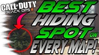 Download The BEST Hiding Spot on EVERY Map! - DLC & Base Map Spots (BO3/Black Ops 3 Secrets) Video