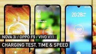 Download Huawei Nova 3i / Oppo F9 / Vivo V11 Charging Test | Zeibiz Video