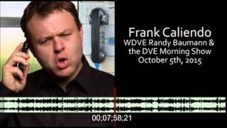 Download Frank Caliendo on Randy Baumann DVE Morning Show Video