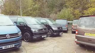 Download Leighton Vans VW T6 Stock Video Rocking Amazing Sportline Kits Video