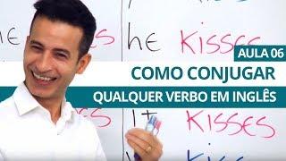 Download COMO CONJUGAR QUALQUER VERBO EM INGLÊS - AULA 06 PARA INICIANTES - PROFESSOR KENNY Video