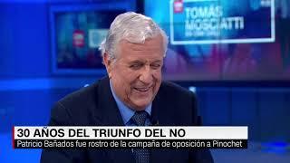 """Download Patricio Bañados: """"No volvería a ser rostro del NO"""" Video"""