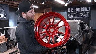 Download 2JZ BRZ Pt 7 - New Wheels & Engine Bay Prep Video