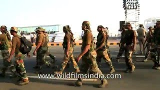 Download Special Indian Army commando force for high security in Visakhapatnam Video