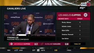 Download Tyronn Lue full postgame press conference after Cavs' overtime win over Clippers Video