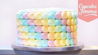 Download Rainbow Petal Cake Masterclass   Cupcake Jemma Video