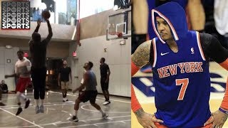 Download Hoodie Melo is the Best Carmelo Anthony Out There [Even JR Smith Agrees] Video