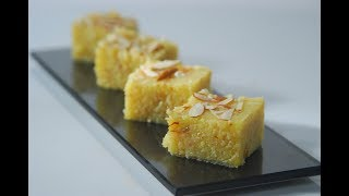 Download Badami Rava Burfi   New Season   Cooksmart   Sanjeev Kapoor Khazana Video