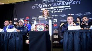 Download SERGEY KOVALEV VS SHABRANSKY FINAL PRESS C ONFERENCE Video