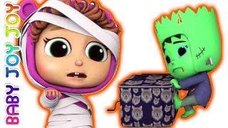 Download Pop Goes the Weasel | Halloween Surprises | 5 Little Babies Video