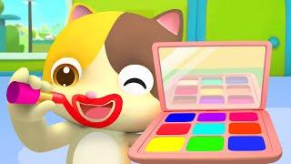 Download Vamos a Maquillar a Papá | Canciones Infantiles | Colores Para Niños | BabyBus Español Video