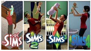 Download ♦ Sims 1 - Sims 2 - Sims 3 - Sims 4 : Baby Evolution Video