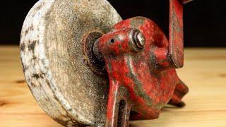 Download Hand-Cranked Grinder Restoration Video