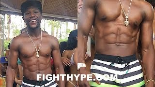 Download (WHOA!!) FLOYD MAYWEATHER UNVEILS CHISELED 154-POUND PHYSIQUE; READY FOR MCGREGOR RIGHT NOW Video