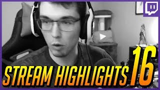 Download Stream Highlights 16 | Alpha Male Plays, Overwatch, and Fortnite Video